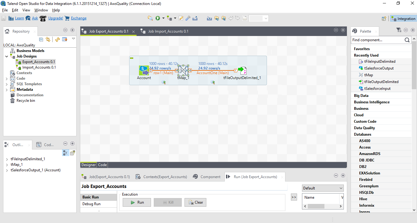 Salesforce Integration and Migration using Talend ETL by