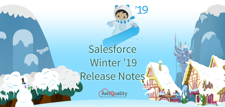 Salesforce Winter'19 Release