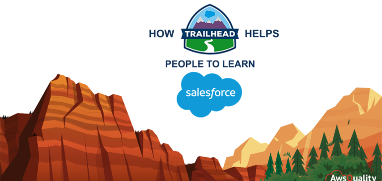 How Trailhead helps people to learn Salesforce