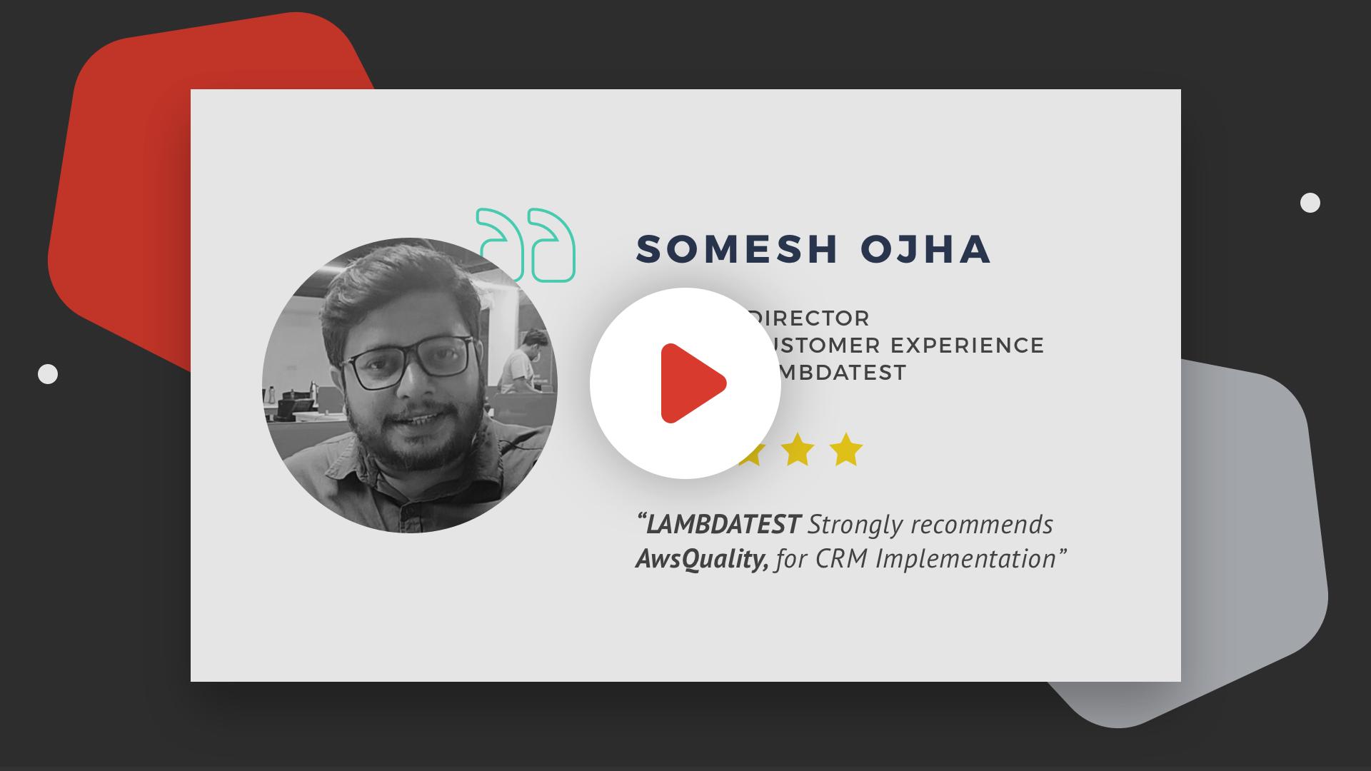 Client Testimonial Salesforce Development