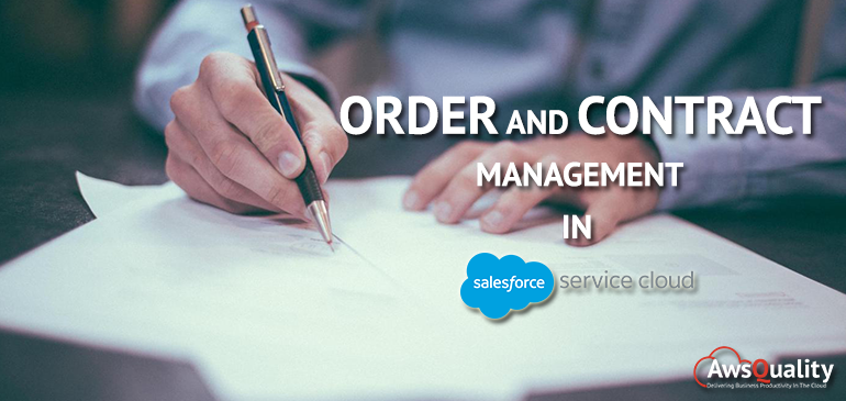 Order and Contract Management in Salesforce Service Cloud